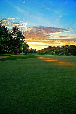 Golf Photograph - Light On 16th Fairway by Jim LaMorder