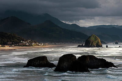 Photograph - Light On Cannon Beach by Robert Potts