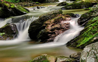 Photograph - Light On Rocks And Water by Greg Mimbs