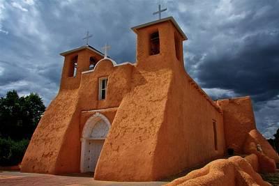 Photograph - Light On San Francisco De Asisi Church, Taos, New Mexico by Flying Z Photography by Zayne Diamond