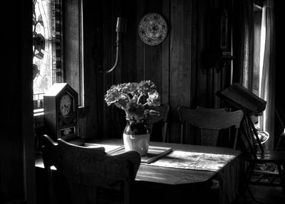 Photograph - Light On Table by Greg Mimbs