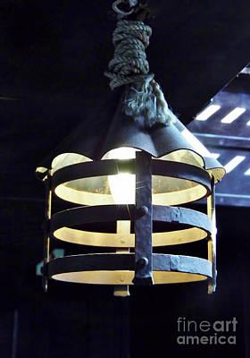 Photograph - Light On The Gun Deck by D Hackett