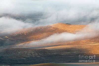 Photograph - Light On The Hills by Mike Dawson