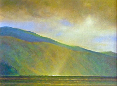 Sun Rays Painting - Light On The Monarchs by Gary Kaemmer