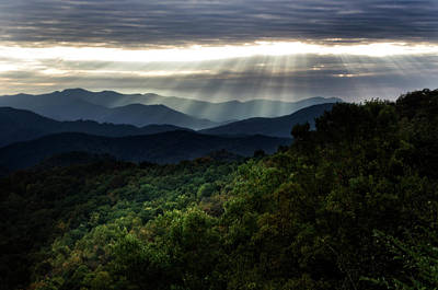 Photograph - Light On The Mountains by Greg Mimbs