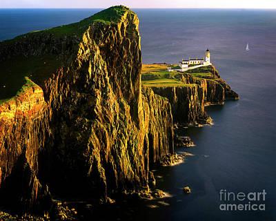 Photograph - Light On The Rock by Edmund Nagele