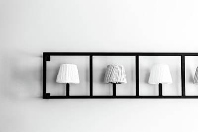 Light On The Wall Art Print