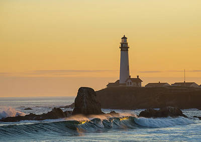 Photograph - Light On The Waves by Alex Lapidus