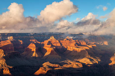 Photograph - Light Over The Canyon by Jonathan Nguyen