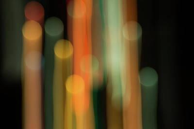 Light Painting No. 1 Art Print