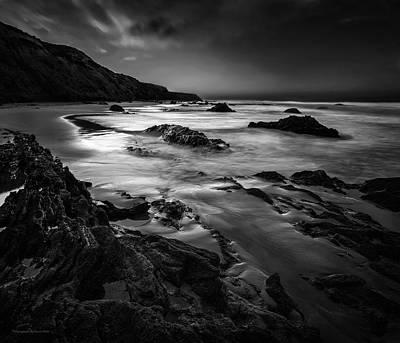 Photograph - Light Passages Bw by Denise Dube