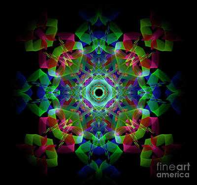 Light Pattern Art Print