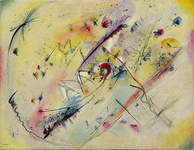 Ceramics Painting - Light Picture By Vassily Kandinsky by Artistic Rifki