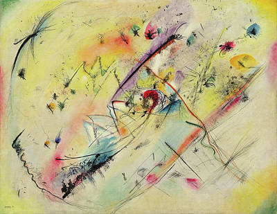 Linear Painting - Light Picture by Wassily Kandinsky