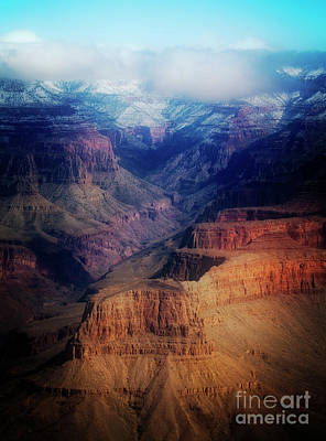 Photograph - Light Play - Grand Canyon by Scott Kemper