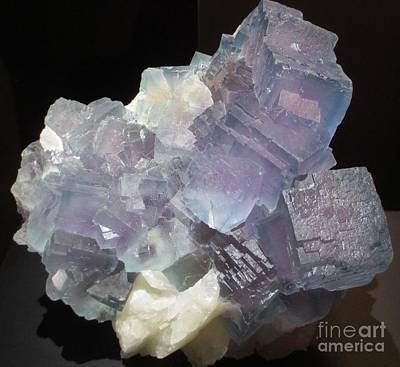 Photograph - Light Purple Gemstone by Barbara Yearty
