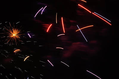 Photograph - Light Saber Swirl by Cate Franklyn