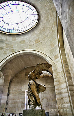 Nike Photograph - Light Samothrace  by Chuck Kuhn