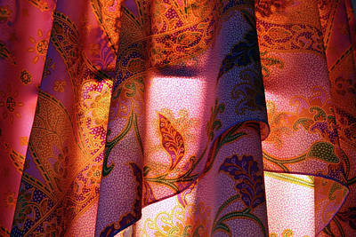 Photograph - Lamp Shade Scarf by Cora Wandel