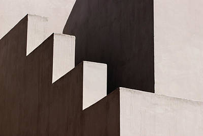 Photograph -  Light Shadow Lines Architecture by Prakash Ghai