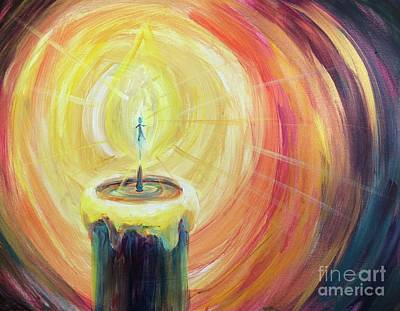 Painting - Light Shine Bright by Lisa DuBois
