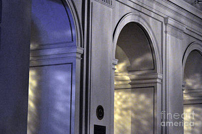 Photograph - Light Splattered Arches by Clayton Bruster