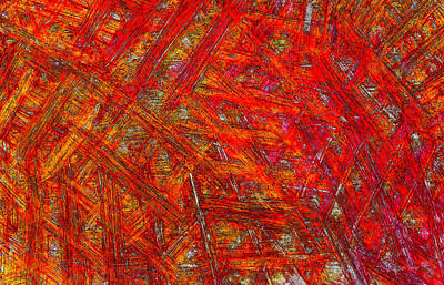 Intriguing Mixed Media - Light Sticks 2 by Sami Tiainen
