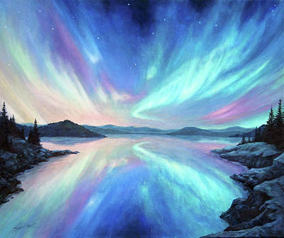Painting - Light Storm by Lucy West