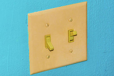 Photograph - Light Switch by Jim Shackett