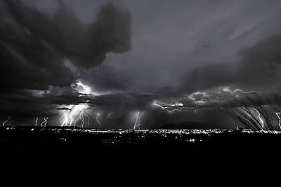 Photograph - Light The Night by Chris Featherstone