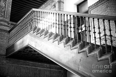 Photograph - Light Through The Bannister by John Rizzuto
