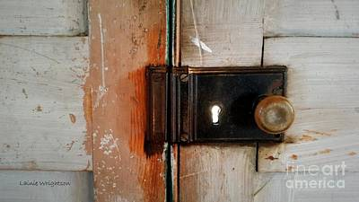 Photograph - Light Through The Keyhole by Lainie Wrightson