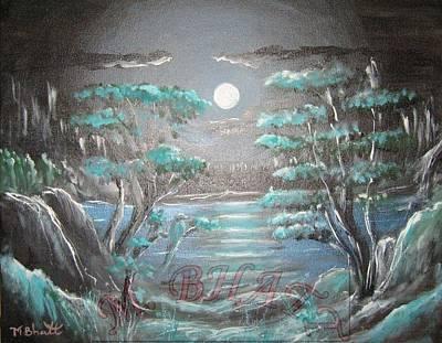 Light Touches Edges Art Print by M Bhatt