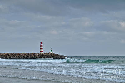 Photograph - Light Tower Of Ilha Deserta In Algarve by Angelo DeVal
