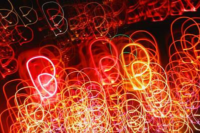 Photograph - Light Twirls by Polly Castor