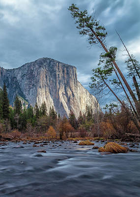 Photograph - Light Up El Capitan by Jonathan Nguyen