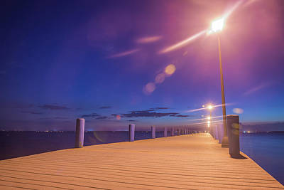 Photograph - Light Up The Night by Kristopher Schoenleber