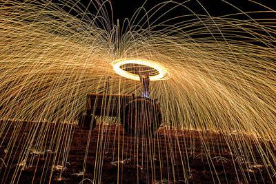 Photograph - Light Up The Night by Willard Sharp