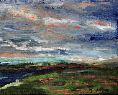 Painting - Light Upon The Marsh by Michael Helfen
