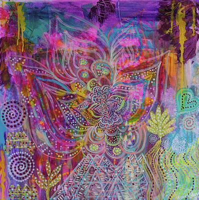 Painting - Light Warrior by Liana Shanti