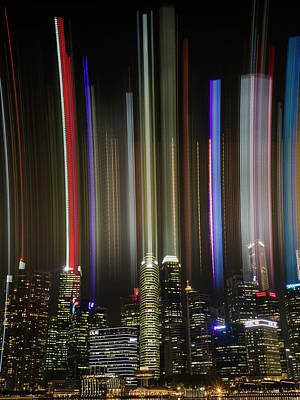 Photograph - Light Wave by Andrew Kow