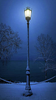 Photograph - Light Winter Blue by Phil Koch