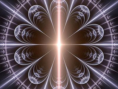 Digital Art - Light Within by Barbara A Lane