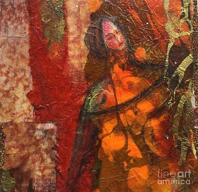Mixed Media - Light Within by Gail Butters Cohen