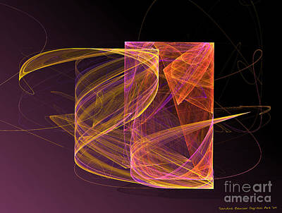 Digital Art - Lightbox by Sandra Bauser Digital Art