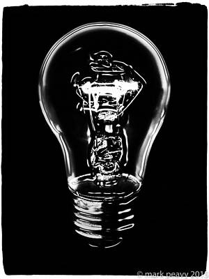 Photograph - Lightbulb by Mark Peavy