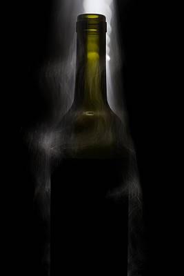 Wine Glass Photograph - Lighten Up by Marnie Patchett