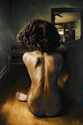 Lightened Solitude  Art Print