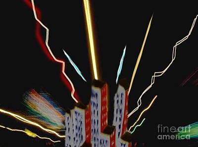 Painting - Lightening  by Belinda Threeths