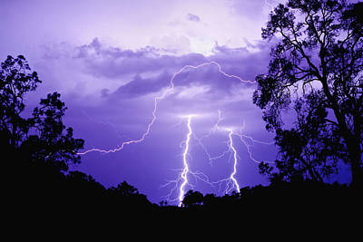 Photograph - Lightening Bolts by Michelle Wrighton